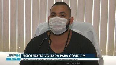 Fisioterapia auxilia na recuperação da respiração após contrair covid-19 - Saiba o que fazer para restaurar totalmente sua respiração .