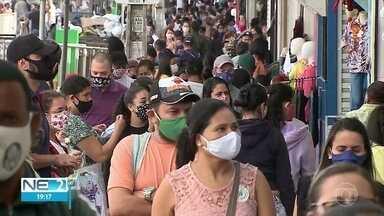 Feiras de confecção voltam a funcionar no Agreste de Pernambuco - Funcionamento foi suspenso devido à pandemia da Covid-19.