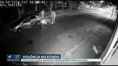 Fim de semana foi marcado pela violência em tês cidades de Minas - Pelo menos oito pessoas foram assassinadas em Belo Horizonte, Itabirito, na região Central, e Ribeirão das Neves, na região metropolitana. A crueldade chamou atenção em alguns desses crimes.