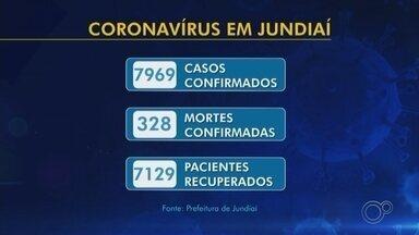 Jundiaí registra mais cinco mortes por Covid-19 e contabiliza 328 óbitos - A Prefeitura de Jundiaí (SP) registrou nesta segunda-feira (10) mais cinco mortes por Covid-19 e contabilizou 328 óbitos.
