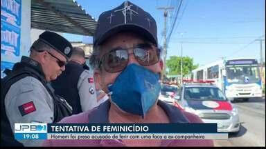 Suspeito de esfaquear ex-companheira em João Pessoa é preso em Mamanguape - Tentativa de feminicídio