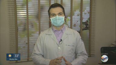 Dermatologista tira duvidas sobre cuidados com o cabelo no inverno - Veja as análises do médico João Carlos Lopes Simão.