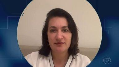 'Não tem nada melhor do que saber que você conseguiu ajudar', afirma cardiologista - A cardiologista Danielle Batista, do Recife, faz parte do contingente enorme de profissionais de saúde que estão combatendo a pandemia.