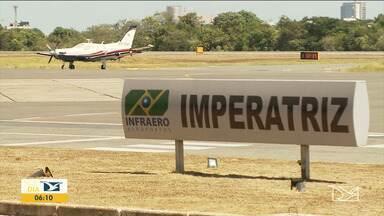 Companhias aéreas anunciam novas rotas em aeroporto de Imperatriz - Cidade continua sem voos diretos para São Luís, mas só a possibilidade de aumento da movimentação com novos voos já trouxe mais ânimo para quem trabalha no aeroporto.