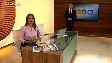 Confira os destaques do Bom Dia Goiás desta quarta-feira (12) - Entre os principais assuntos está crescimento do agronegócio no estado apesar da crise.