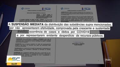 Conselho de Saúde de Itajaí determina que prefeitura pare de distribuir ivermectina - Conselho de Saúde de Itajaí determina que prefeitura pare de distribuir ivermectina