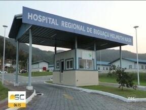 Nova ala de UTI será inaugurada é quarta-feira no Hospital Regional de Biguaçu - Nova ala de UTI será inaugurada é quarta-feira no Hospital Regional de Biguaçu