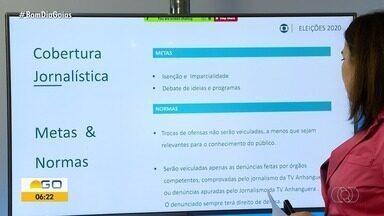 Jaime Câmara apresenta previsão da cobertura das eleições aos partidos políticos - Representantes podem assinar documento digitalmente dando ciência do calendário.