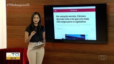 G1: Câmara derruba veto a lei que cria mais 236 cargos para o Legislativo - G1: Câmara derruba veto a lei que cria mais 236 cargos para o Legislativo