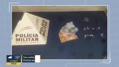 Adolescentes são apreendidos suspeitos de tráfico de drogas em BH e Lagoa Santa - Em Lagoa Santa, menor trocou tiros com a polícia antes de ser detido.