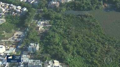 Áreas no limite do Parque Chico Mendes estão sendo loteadas - Na unidade de conservação do município, vivem espécies em extinção, como o jacaré do papo amarelo.