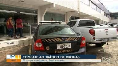 Polícia Federal cumpre mandados no Maranhão e mais cinco estados - No combate ao tráfico internacional de drogas, a Polícia Federal cumpriu, nesta quarta-feira (12), mandados de prisão, busca e apreensão.