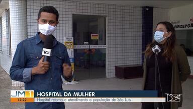 Hospital da Mulher retoma atendimento à população de São Luís - Depois de passar 125 dias exclusivo para atendimento da Covid-19, o Hospital da Mulher, na capital, voltou a atender em todas as áreas.