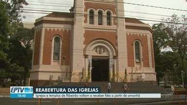 Prefeitura de Ribeirão Preto autoriza retomada de missas e cultos religiosos; veja regras - Celebrações devem acontecer das 8h às 21h, com ocupação dos templos a 30% da capacidade determinada nos alvarás de funcionamento.