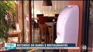 Bares e restaurantes se adaptam para voltar a funcionar no dia 17 de agosto - Bares e restaurantes se adaptam para voltar a funcionar no dia 17 de agosto