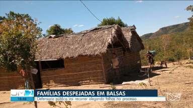 DP do MA vai recorrer decisão que autoriza despejo de famílias de comunidade em Balsas - No cumprimento da reintegração de posse, casas e plantações foram destruídas.