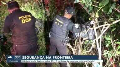 Ministério da Justiça reduz R$ 13 milhões de repasse ao Estado para segurança na fronteira - Ministério da Justiça reduz R$ 13 milhões de repasse ao Estado para segurança na fronteira