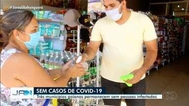 Goiás tem seis cidades sem nenhum caso confirmados de covid-19 - Goiás tem seis cidades sem nenhum caso confirmados de covid-19