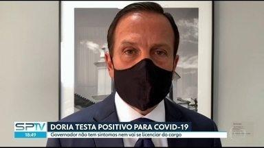 SP2 - Edição de quarta-feira, 12/08/2020 - Governador João Dória confirma resultado positivo em teste para Covid-19. São Paulo registra mais de 15 mil casos em 24 horas.
