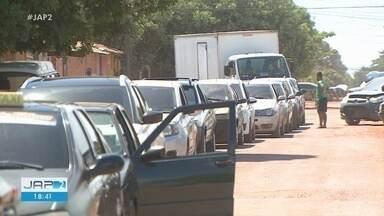 Boato gera dia foi de filas e falta de gasolina em postos de combustíveis no Amapá - Boato gera dia foi de filas e falta de gasolina em postos de combustíveis no Amapá