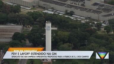 GM propõe PDV e layoff a funcionários na fábrica de São José dos Campos, diz sindicato - Empresa diz que vem adotando medidas para redução de custos desde o início da pandemia.