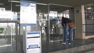 Urnas em agências do INSS vão receber documentos e tentar diminuir filas por benefícios - Serviço passa a funcionar nesta quinta-feira (13) e vai receber documentos pendentes e necessários para o andamento da concessão.