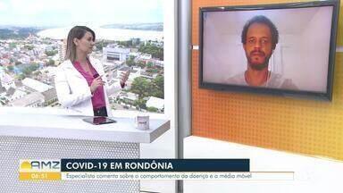 Especialista fala sobre número de mortes da covid-19 em Rondônia - Novo pico pode ser atingido se os cuidados com higiene e distanciamento não forem tomados.