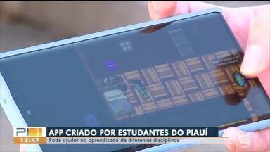 App criado por estudantes do Piauí ajuda no aprendizado de várias disciplinas - App criado por estudantes do Piauí ajuda no aprendizado de várias disciplinas