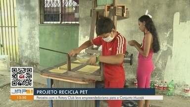 'Recicla Pet': projeto em parceria com o Rotary Club leva empreendedorismo para o Mucajá - 'Recicla Pet': projeto em parceria com o Rotary Club leva empreendedorismo para o Mucajá