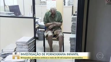 Preso no Rio um homem suspeito de manter um estúdio de pornografia infantil dentro de casa - Foram apreendidos brinquedos, produtos eróticos e mais de trinta arquivos criptografados.