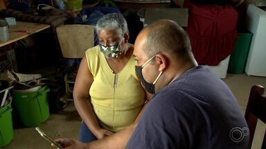 Veja a história de reencontro no meio da pandemia de duas irmãs - Dona Terezinha procura a irmã que veio pra São Paulo com ela, e acabou se mudando para Campinas (SP). Na época, como não tinha telefone, elas nunca mais se falaram.