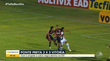 Confira as últimas informações sobre os jogos do Vitória e Bahia, neste fim de semana - Tricolor enfrenta o Bragantino, no domingo (16).