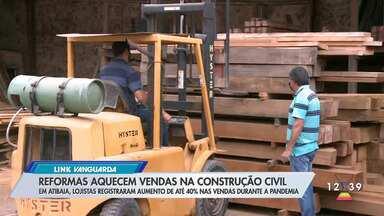 Lojas de materiais de construção tem aumento de vendas em Atibaia - Empresários acreditam que quarentena impulsionou procura.