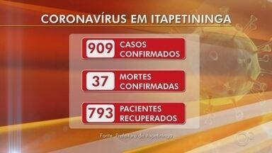 Veja o número de casos de coronavírus em Sorocaba, Jundiaí e Itapetininga - Confira o balanço dos casos de coronavírus em Sorocaba, Jundiaí e Itapetininga (SP) no Bom Dia Cidade desta segunda-feira (17).