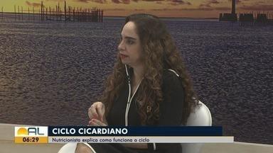 Especialista fala sobre o ciclo circadiano - Nutricionista Isabela Khoury fala sobre o assunto.