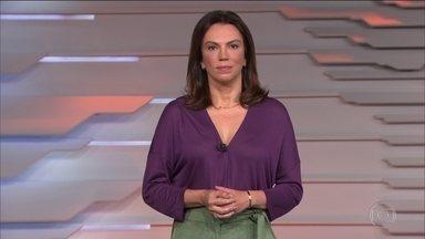 Bom Dia Brasil - Edição de segunda-feira, 17/08/2020 - O telejornal, com apresentação de Chico Pinheiro e Ana Paula Araújo, exibe as primeiras notícias do dia no Brasil e no mundo e repercute os fatos mais relevantes.