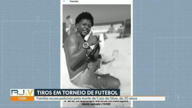 Corpo de jovem morto durante tiroteio no Morro dos Macacos é enterrado - A família afirma que Caio Gabriel Vieira da Silva, de 20 anos, era inocente e que foi morto pela polícia.