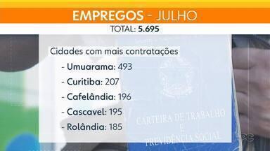 Julho foi considerado o mês com o maior número de contratações durante a pandemia - Em todo o Paraná, foram 2.729 contratações a mais do que em abril
