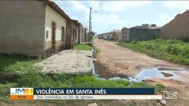 PM realiza operação no Vale do Pindaré - Dois homicídios foram registrados no fim de semana em Santa Inês.