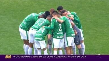 Chapecoense conquista primeira vitória na Série B - Chapecoense conquista primeira vitória na Série B