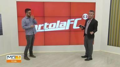 Veja os destaques do Cartola da Inter TV - Coisas não começaram bem para o repórter André Guimarães.