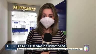 Postos do Detran reabrem nesta segunda em cidades do interior do Rio - Posto de Itaipava, em Petrópolis, está na lista.