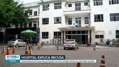MPES e MPF-ES apuram vazamento de informações sobre menina grávida após estupro - Confira na reportagem.