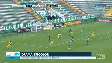 Sampaio perde mais uma pelo Campeonato Brasileiro da Série B - Nova derrota foi para a Chapecoense, por 1 a 0.