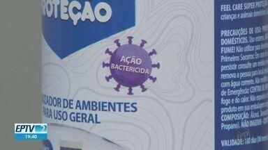 Empresa de Ribeirão Preto desenvolve higienizador eficaz contra o coronavírus - O produto testado em trens e metrôs de São Paulo recebeu as certificações, e está pronto para ser usado.