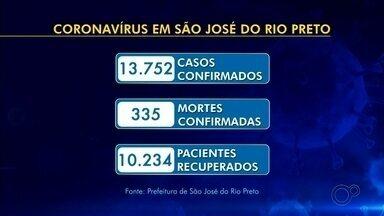 Rio Preto confirma mais duas mortes pela Covid-19 - São José do Rio Preto (SP) teve o registro de duas mortes e mais 74 casos positivos de coronavírus nesta segunda-feira (17), desde a última atualização da Secretaria de Saúde, feita no domingo (