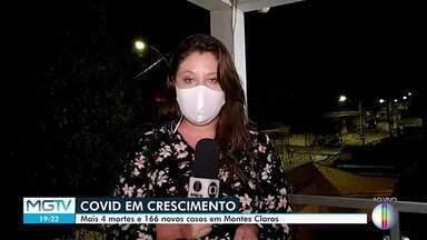 Montes Claros registou mais 4 mortes e 166 novos casos da Covid-19 - Informações foram divulgadas no boletim epidemiológico desta segunda-feira (17).