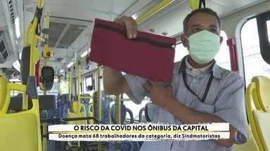 Motoristas de ônibus lidam com os riscos da Covid-19 no transporte público - Profissão Repórter conta a história do motorista Raimunda, de 53 anos, que morreu vítima do coronavírus. Doença já matou 68 trabalhadores da categoria na cidade de São Paulo, segundo o Sindmotoristas.