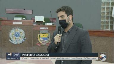 Prefeito de Machado tem mandato cassado pela Câmara de Vereadores - Prefeito de Machado tem mandato cassado pela Câmara de Vereadores