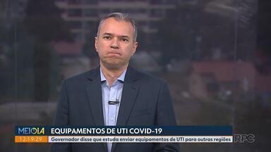 Samu de Curitiba passa a ter atendimento separado pra Covid-19 - É uma nova estrutura montada pela prefeitura de Curitiba exclusiva para esse tipo de atendimento.